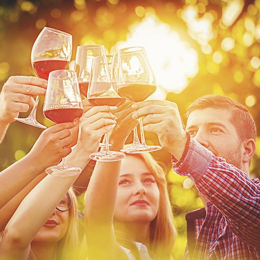 sloveense wijnen foto bijgesneden
